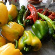 Nakládaná zelenina 1 recept