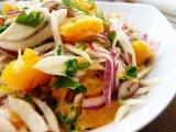 Pomerančovofenyklový salát recept