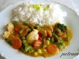 Červené kuřecí kari recept