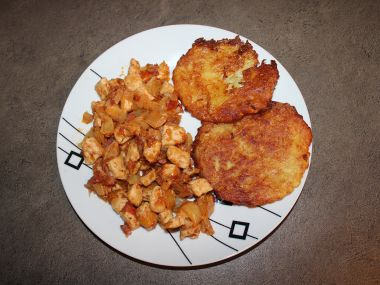 pálivá směs s bramboráky