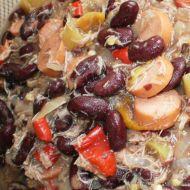 Řecké fazole recept