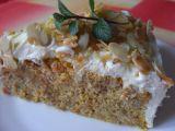 Mrkvový dort s mandlemi a krémem recept