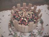 Lentilkový dortík recept