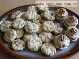 Ořechové slané keksy recept