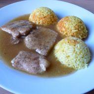 Vepřové medailonky s kari rýží recept