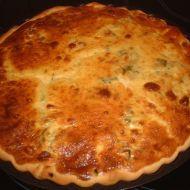 Lotrinský kari-pórkový koláč recept