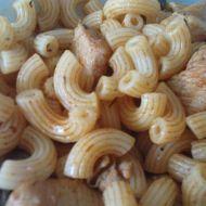 Kuřecí směs s těstovinami a houbami recept