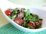 Hrstkový salát s tuňákem recept