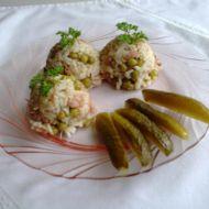 Rychlé kuřecí rizoto s hráškem recept