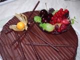 Čokoládový dort z čokolády recept