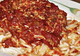 Špagety po arabsku recept