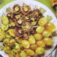 Zelenina a houby po řecku recept