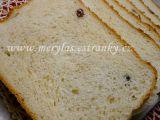 Kynutý sladký bochánek s rozinkami z domácí pekárny recept ...