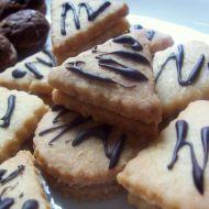 Kokosové plněné keksy recept