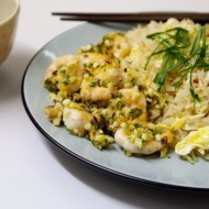 Pekingská rýže s krevetami recept