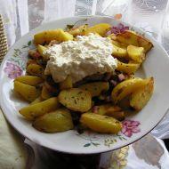 Brynzové brambory s bylinkami recept