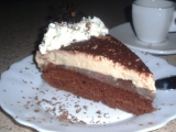 Jahodový dort s cappuccinem recept