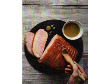 Barbecue ham (šunka na grilu)