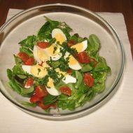 Polníčkový salát s cibulí recept