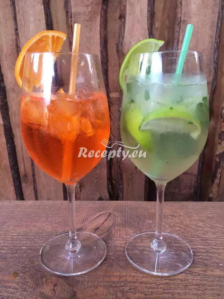 Mojito orange recept  míchané nápoje
