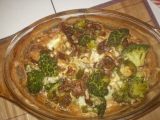 Brokolice s hlívou na smetaně recept