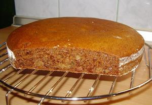 Otrubový chléb s medem