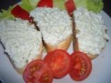 Česnekovo-nivová pomazánka recept