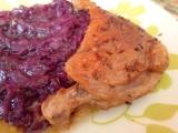 Kachna s červeným zelím a bramborovým knedlíkem recept ...