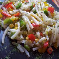 Vegetariánské rýžové těstoviny recept