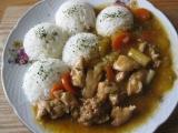 Kuřecí kousky se zeleninou Wok recept