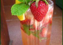 Zázvorovo ananasový punč recept