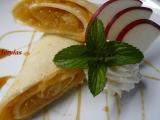 Kokosové palačinky s jablečnou náplní recept