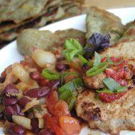Vepřové kotlety se zeleninovou směsí recept