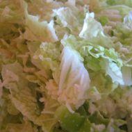 Salát z čínského zelí a sýra recept