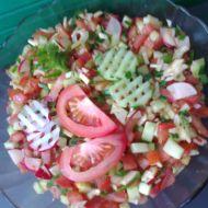 Fenyklový salát se zeleninou recept