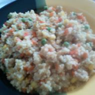 Kuskus alá rizoto recept