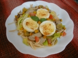 Letní špagetový salát recept