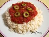 Rajčatovo-olivová omáčka na těstoviny/rýži recept