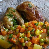 Kuře zapečené se zeleninou recept