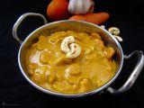 Kešu mrkvové kari recept