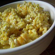 Sýrové kari rizoto recept