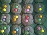 Lentilkové cookies s bílou čokoládou recept