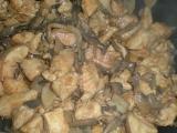 Kuřecí kousky se žampióny a kukuřicí recept