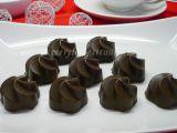 Čokoládové pralinky s banánovou náplní recept