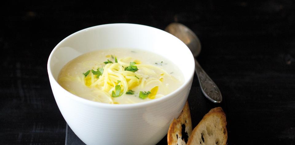 Provensálská česneková polévka