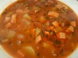 Polévka skoro-gulášovka recept