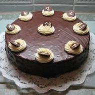 Velký ořechový dort recept