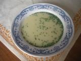 Pažitková rychlá polévka recept