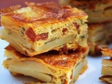 Tortilla chorizo