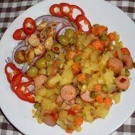 Pikantní bramborový salát recept
